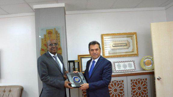 Cibuti Cumhuriyeti Ankara Büyükelçisi Sayın Aden Houssein Abdillahi nin Genel