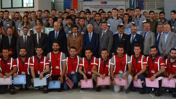 Türk Havacılık Sektörüne Üst Düzey Nitelikli Teknik Elemanlar Yetişiyor