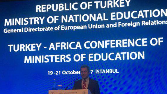 Genel Müdürümüz Sayın Osman Nuri GÜLAY İstanbul da düzenlenen Afrika