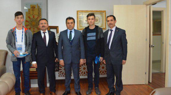 Genel Müdürümüz Kastamonu Mesleki ve Teknik Anadolu Lisesi Okul Müdürü ve ekibini kabul etti
