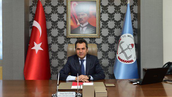 Genel Müdürümüz Osman Nuri GÜLAY´ın 24 Kasım Öğretmenler Günü Mesajı