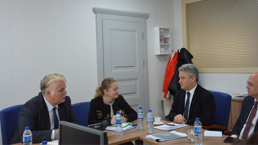 Avrupa Eğitim Vakfı ve Avrupa Kalkınma Bankasından Genel Müdürlüğümüze Ziyaret